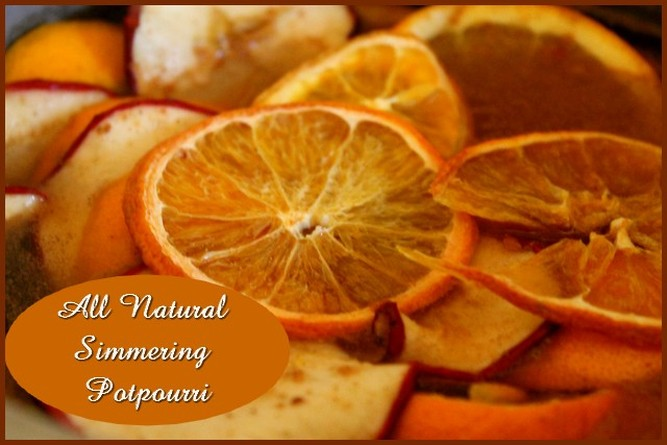 All Natural Simmering Potpourri