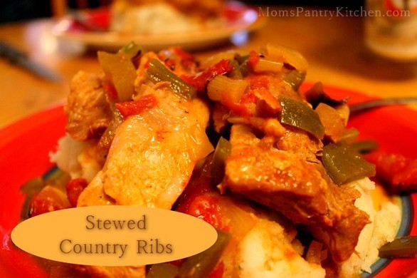 Stewed Country Ribs