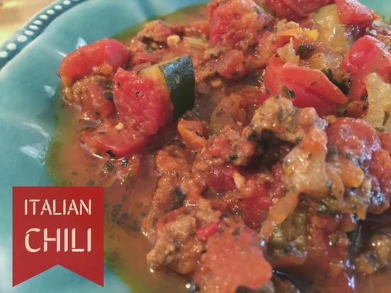 Italian Chili - Mom's Kitchen Pantry