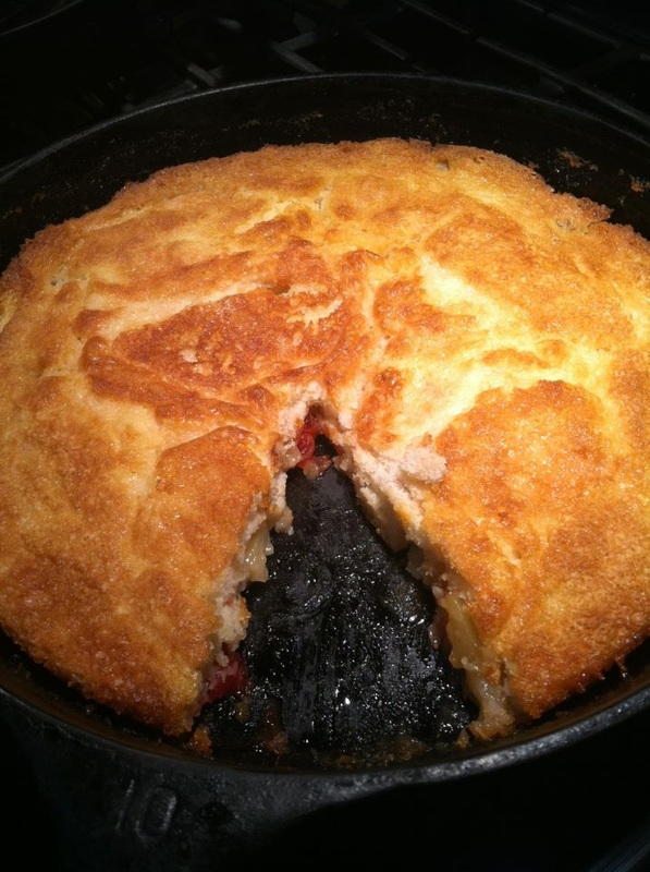 Cast Iron Apple Cobbler With Cake Mix