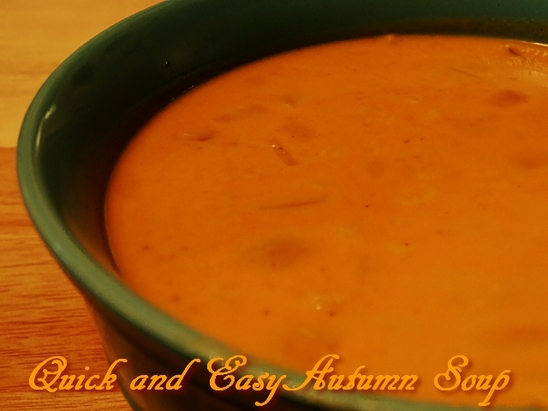 Quick and Easy Autumn Soup