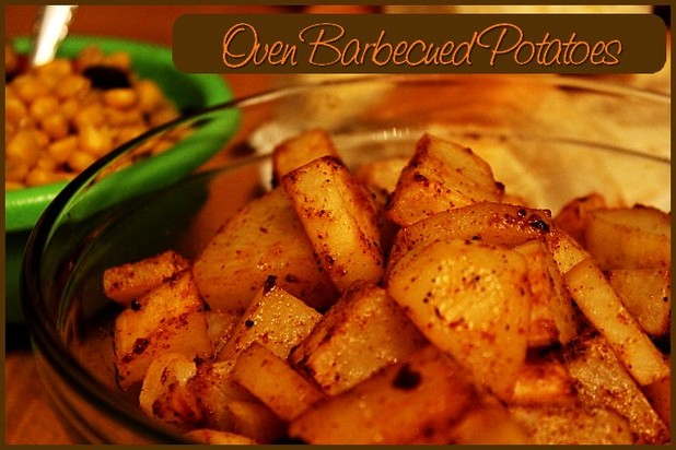Oven Barbecued Potatoes