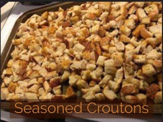 Recipe: Seasoned Croutons