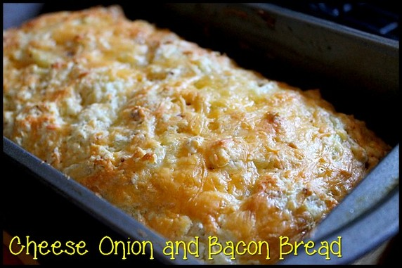 Cheese Bacon and Onion Bread