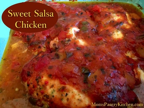 Sweet Salsa Chicken