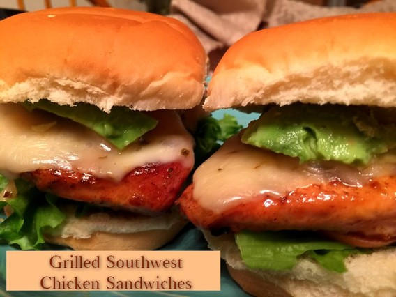 Grilled Southwest Chicken Sandwiches