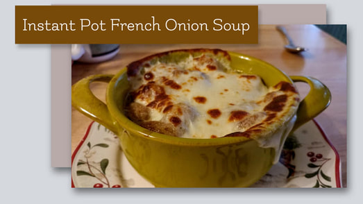 Instant Pot: French Onion Soup