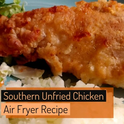 Air Fryer:  Southern Fried Chicken